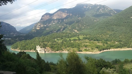 Hotel Les Truites : Great views of the high Pyrenees