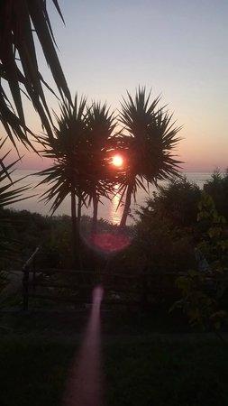 Park Residence Cicladi: L'alba è uno spettacolo.
