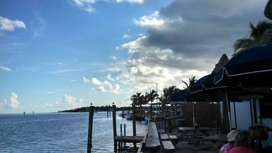 Tiki Bar At Holiday Isle: View from the deck
