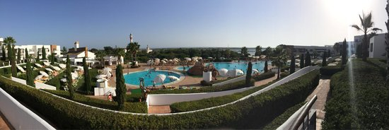Hotel Fuerte el Rompido: Vista del bar