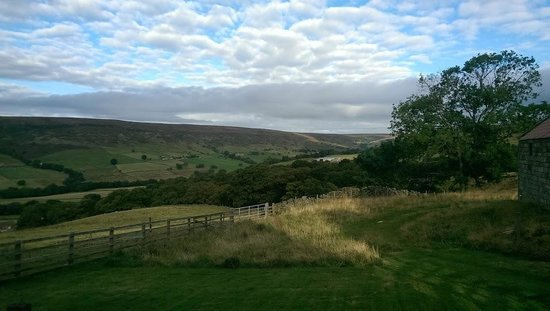 Yorkshire, UK: View up the dale