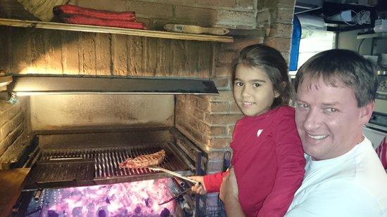 't Grillkasteeltje: en las brasas con el cocinero