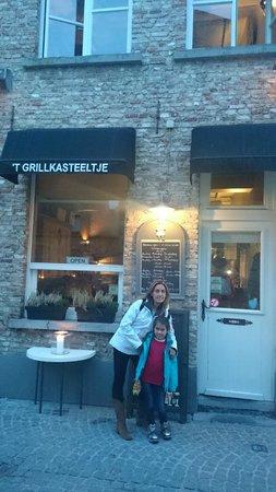 't Grillkasteeltje: entrada del Restaurant