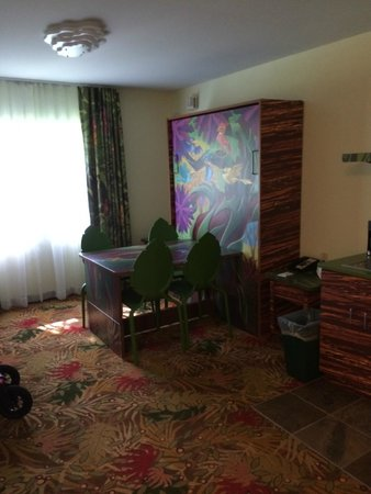 Dining Table That Turns Into A Murphy Bed Picture Of Disney S Art Of Animation Resort Orlando Tripadvisor