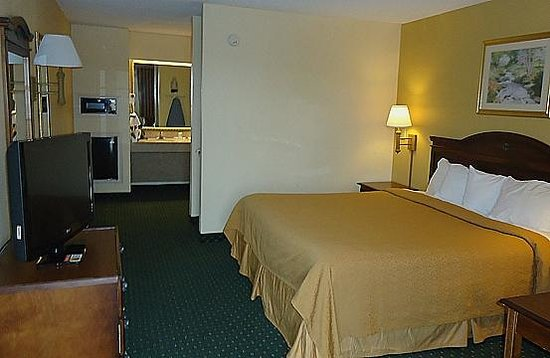 Quality Inn & Suites Southwest: King Size Bed