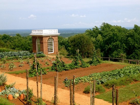 Thomas Jeffersons Monticello: View from Monticello