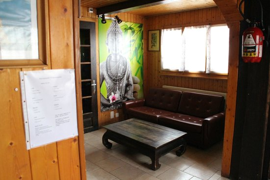 "Hotel de la Poste: ""The lobby"""