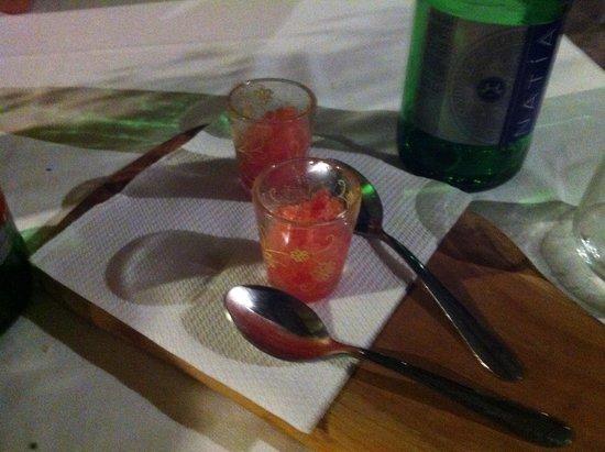 Da Tonino : Granatina  di cocomero