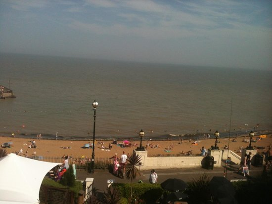 Royal Albion Hotel: View from our room
