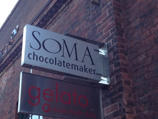 Soma Chocolate: Soma - front entrance