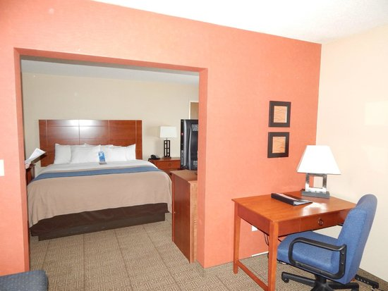 Comfort Inn Civic Center: The Suite Life