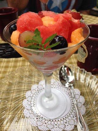Brickhouse Inn Bed & Breakfast : delish breakfasts