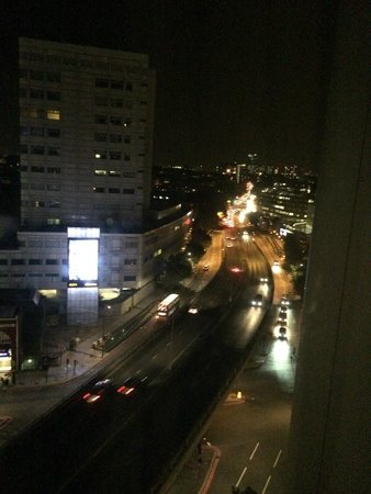 Hilton London Metropole: Beautiful view from our room!