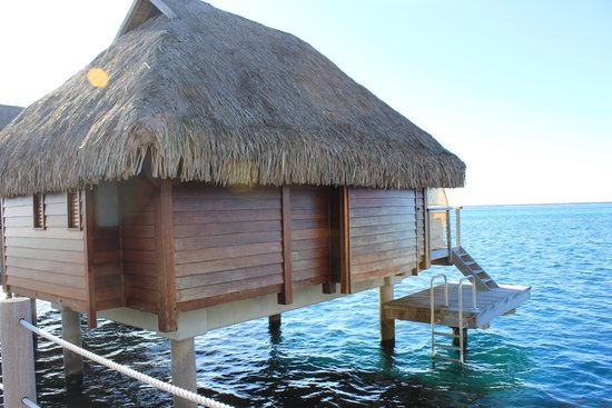 Manava Beach Resort & Spa - Moorea : Bungalow overwater premium
