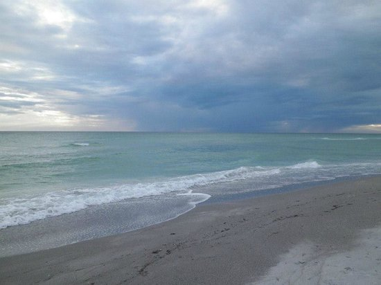 The Beach on Longboat Key: The Beach at sunset