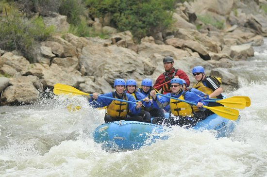 Nathrop, CO: Teenagers wanted their own raft