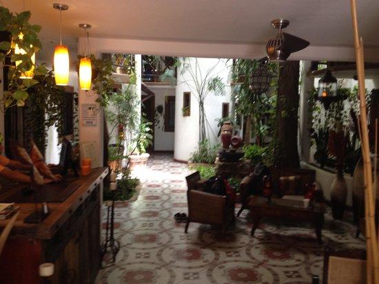 Hotel Boutique Posada Mariposa: Lobby