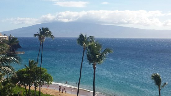 Royal Lahaina Resort : From our Balcony on the 8th floor.