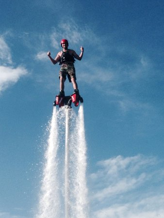 Flyboard of Montana.