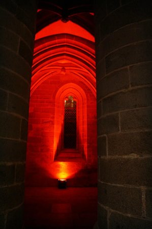 Abbaye du Mont-Saint-Michel : Inside the Abbey
