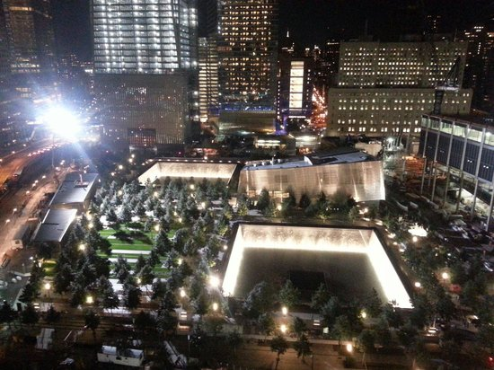 Club Quarters Hotel, World Trade Center: View from 20th floor