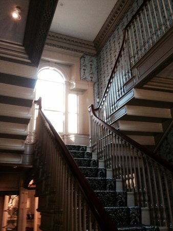 Portland Museum of Art: The old stairwell