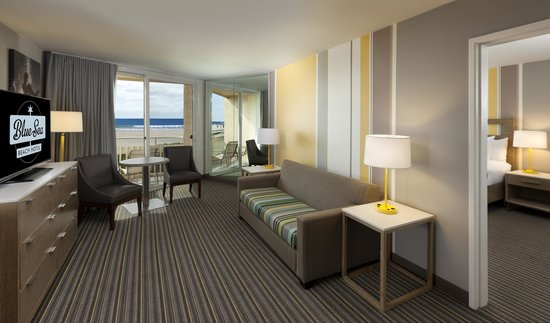 Blue Sea Beach Hotel: Recently Renovated Ocean View Guest Suite