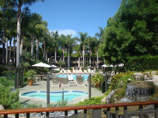 Sheraton La Jolla Hotel: Rooms facing pool