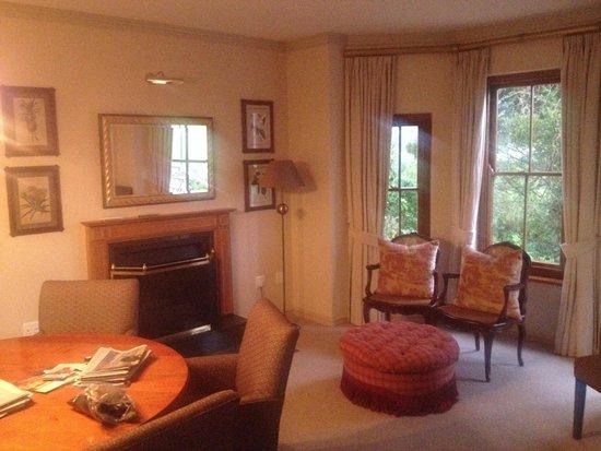 Fancourt: living area