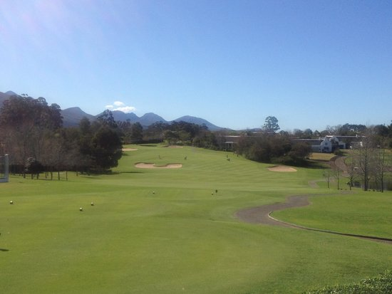 Fancourt: 1 st Hole Outeniqua Course