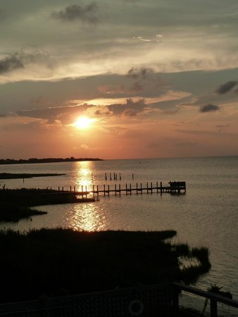 Pamlico Sound at Cafe Pamlico