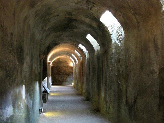 Montalto di Castro, Italie : Vulci-particolare del Criptoportico