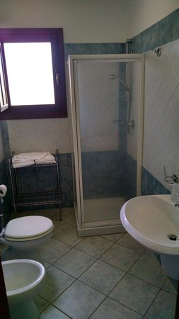 Hotel Biderrosa: Bagno
