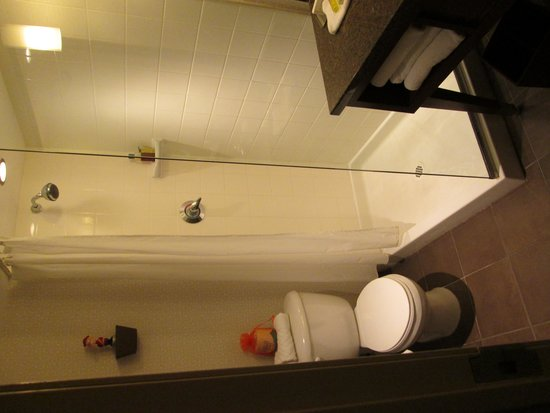 The Curtis Denver - a DoubleTree by Hilton Hotel: Shower room 506