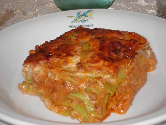 Hotel Mirabella : Le mitiche lasagne verdi di Silvia