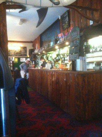Hartland Quay Hotel: The bar