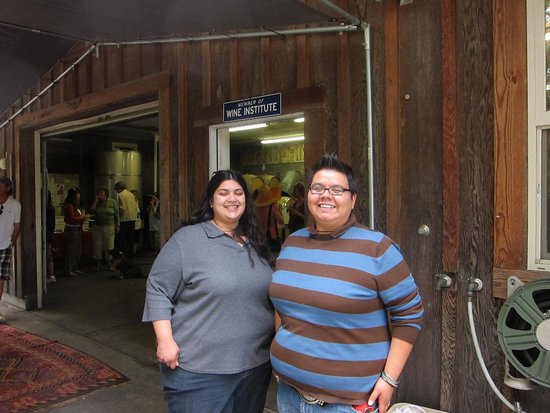 Redway, Californien: A few happy tasters