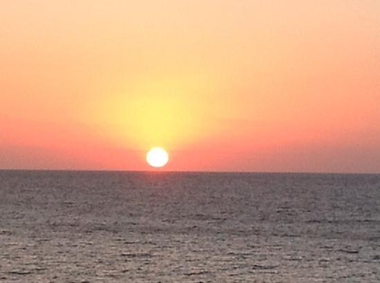 Sensimar Aguait Resort & Spa: amanecer desde Aguait