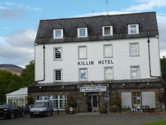 Killin Hotel: Arrival