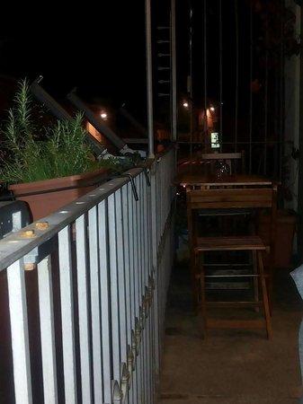 Osteria More e Macine: zona balcone