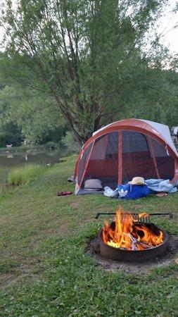 Pagosa Riverside Campground : Campsite E