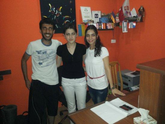Yerevan Hostel : with lovely staff