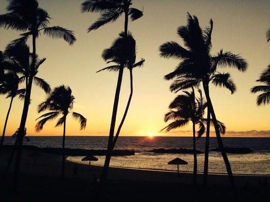 Beach Villas at Ko Olina: Best beach with the best sunset view
