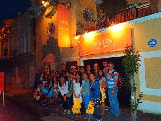 Otoya 1155 Restaurant & Lounge: Group Picture Outside Otoya 1155