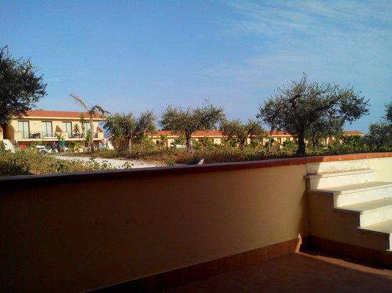 L'Oasi Di Selinunte - Club Marmara Sicilia : Vue de la terrasse