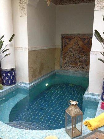 Riad Aloès : Der wunderschöne Pool