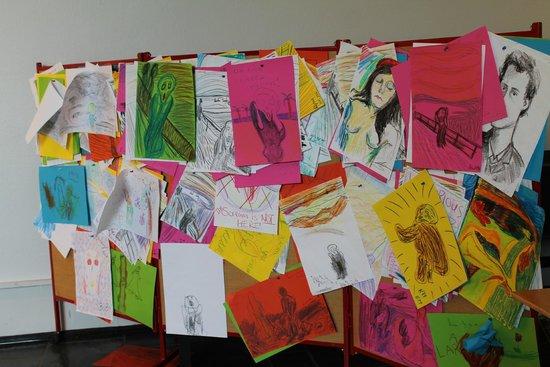Munch Museum: Творчество посетителей