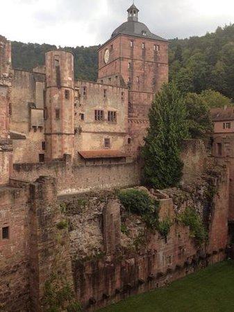 Schloss Heidelberg: Die Aussenfassade des Schlosses