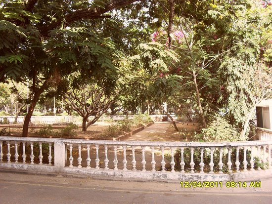 Bharati Government Park : Park from outside