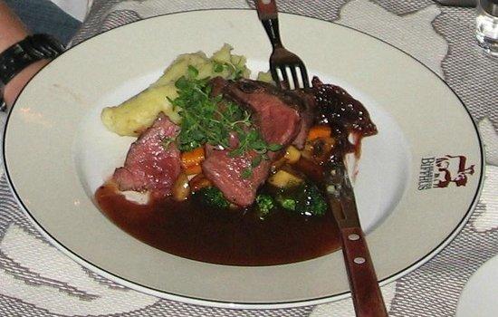 Biffhuset: reindeer steak